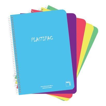 paquete-5-libretas-sam-pacsa-folio-con-tapa-de-polipropileno-translucido-serie-plastipac-80-hojas-cuadricula-4x4-papel-90gr-colo