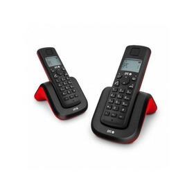 telefono-inalambrico-duo-dectgap-spc-7292r-rojonegro-identificador-de-llamadas-manos-libres-gap-compatible-luz-en-pantalla-rella
