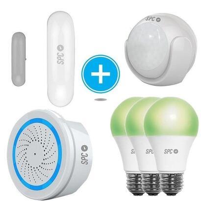 kit-de-seguridad-spc-6908k-2-compuesto-por-sensor-inteligente-aperio-sensor-movimiento-kinese-alarma-wifi-sonus-3-bombillas-siri
