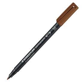 rotulador-permanente-staedtler-marron-punta-m-1mm-lumocolor-317