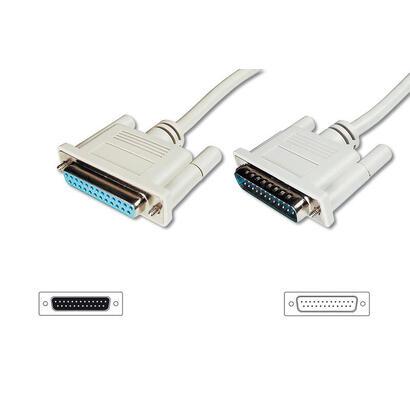 assmann-electronic-ak-610201-020-e-cable-de-serie-beige-2-m-dsub-25-pin