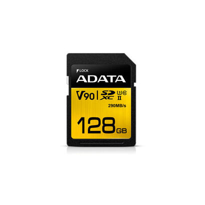 adata-premier-one-v90-memoria-flash-128-gb-sdxc-clase-10-uhs-ii