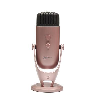 arozzi-colonna-microfono-de-superficie-para-mesa-oro-rosa