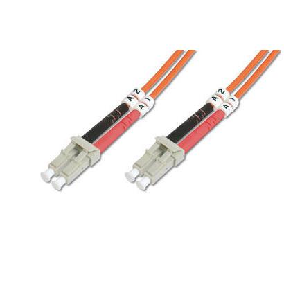 digitus-lc-om4-1m-cable-de-fibra-optica-om2-naranja
