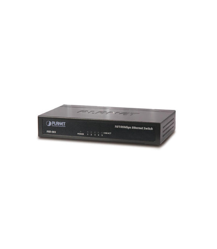 planet-fsd-503-switch-no-administrado-l2-gigabit-ethernet-101001000-negro