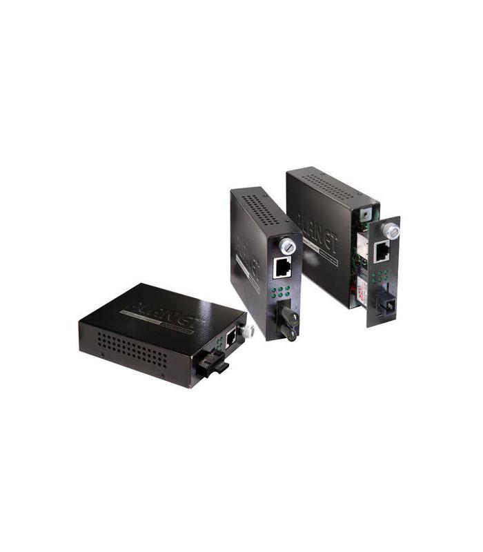 planet-fst-802s50-convertidor-de-medio-200-mbits-1550-nm-monomodo-negro