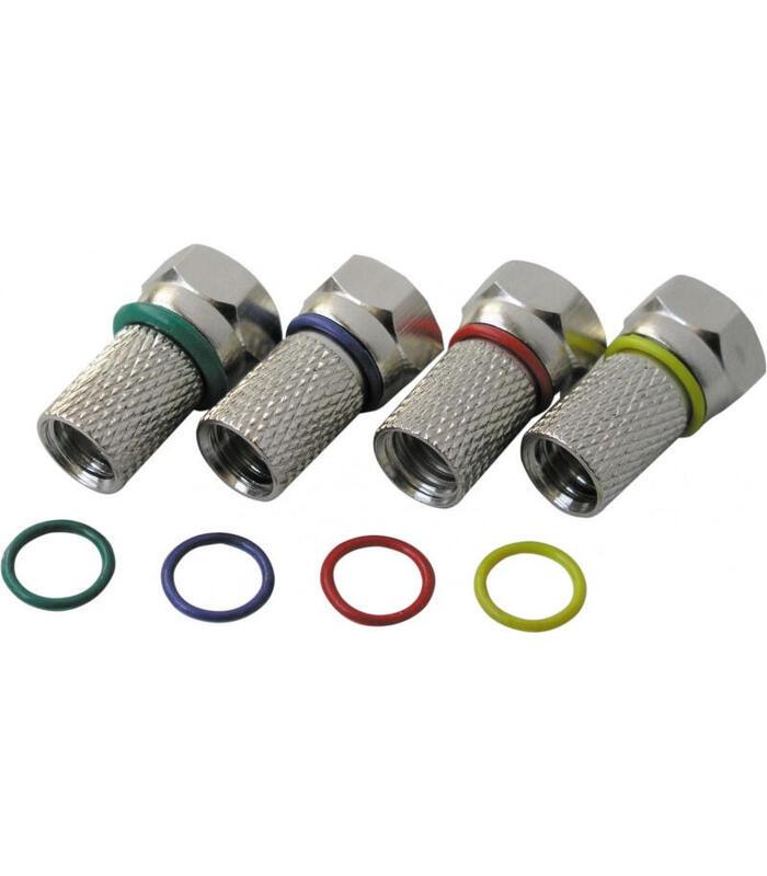 schwaiger-fstfr7004-531-conector-coaxial-tipo-f-4-piezas
