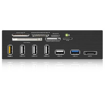 icy-box-ib-867-lector-de-tarjeta-interno-negro-usb-32-gen-1-31-gen-1esata