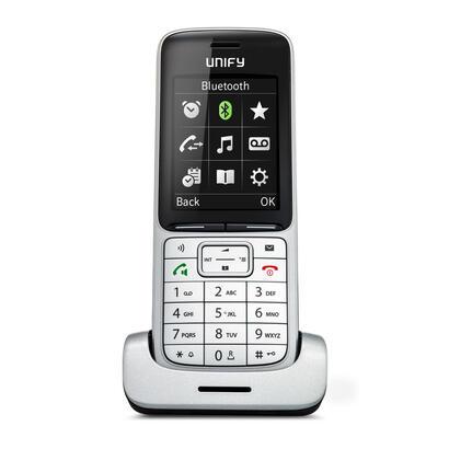 unify-sl5-telefono-dect-negro-plata-identificador-de-llamadas