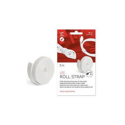 label-the-cable-ltc-1220-organizador-de-cables-tubo-flexible-para-proteccion-de-cables-escritoriopared-blanco-1-piezas