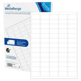 mediarange-mrink151-etiqueta-autoadhesiva-blanco-permanente-3250-piezas