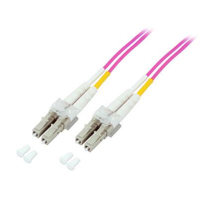 efb-elektronik-o031925-cable-de-fibra-optica-25-m-lszh-om4-2x-lc-violeta