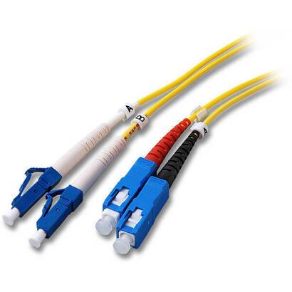 efb-elektronik-o03605-cable-de-fibra-optica-5-m-os2-lc-sc-amarillo