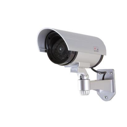 logilink-sc0204-camara-de-seguridad-ficticia-bala-plata