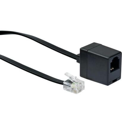 schwaiger-cable-telefonico-verl-rj11-6p4c-rj11-6p4c-10m