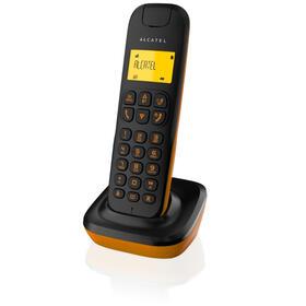 telefono-inalambrico-alcatel-d135-negronaranja-telefono-inalambrico-alcatel-d135-negronaranja