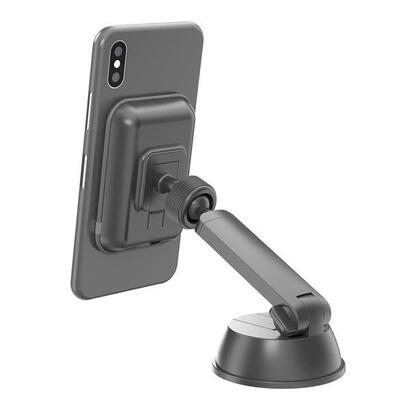 celly-ghostchargebk-soporte-telefono-movilsmartphone-negro-soporte-activo-para-telefono-movil