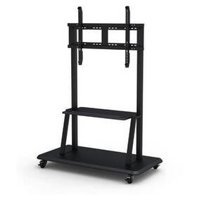avtek-international-1mv041t-soporte-de-pie-para-pantalla-plana-soporte-de-suelo-con-ruedas-para-pantalla-plana-negro