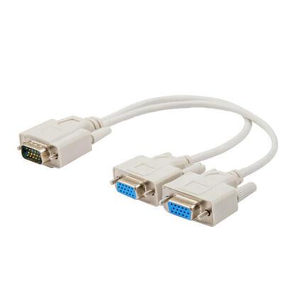 savio-cl-66-adaptador-de-cable-vga-2-x-vga-blanco