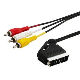 savio-cl-133-cable-euroconector-2-m-scart-21-pin-3-x-rca-multicolor