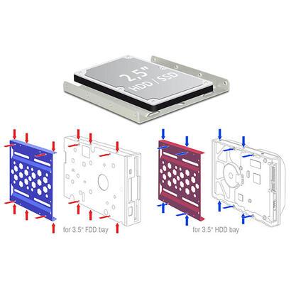 delock-21287-panel-de-bahia-de-disco-duro-889-cm-35-negro