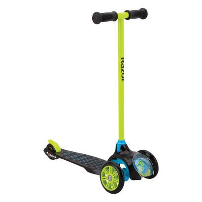 razor-t3-ninos-patinete-de-tres-ruedas-negro-verde