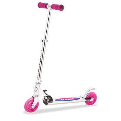 razor-a125-ninos-patinete-clasico-rosa-acero-inoxidable-blanco