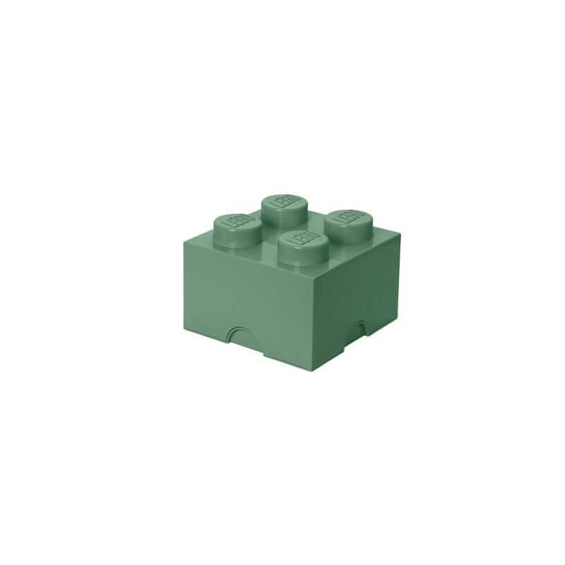room-copenhagen-lego-storage-brick-4-arena-verde-caja-de-almacenamiento-verde