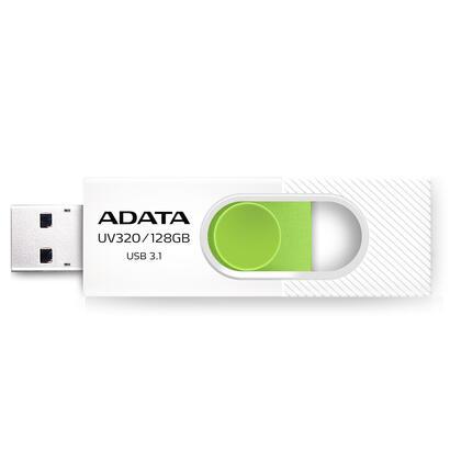 adata-flash-drive-uv320-128gb-usb-30-white-and-green