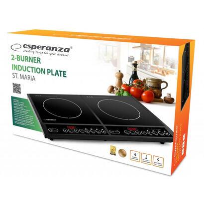 esperanza-ekh008-st-maria-placa-caliente-de-induccion-2-placas-4000w-2x2000w
