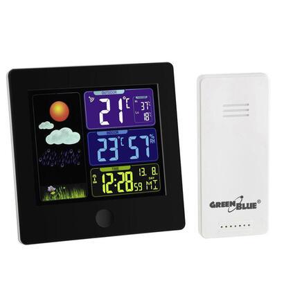 greenblue-estacion-meteorologica-con-sensor-exterior-gb521b