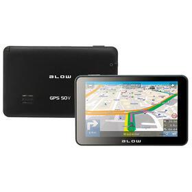 blow-gps50v-navegador-127-cm-5-pantalla-tactil-tft-fijo-negro