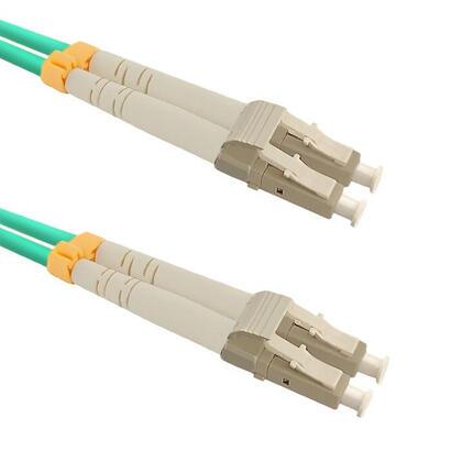 qoltec-54076-cable-de-fibra-optica-2-m-lszh-om3-lcupc-aqua