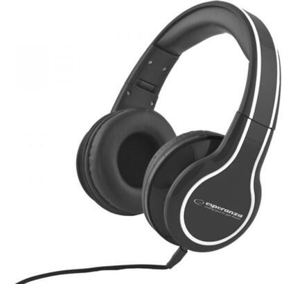 esperanza-eh136k-blues-auriculares-estereo-plegables-con-control-de-volumen-3m