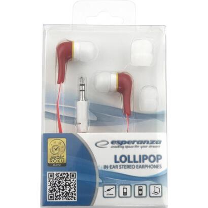 auriculares-esperanza-eh146r-lollipop-audio-estereo-auriculares-rojo