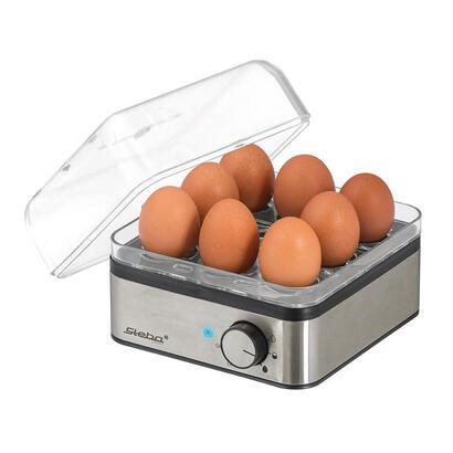 steba-ek-5-cuecehuevos-8-huevos-400-w-negro-acero-inoxidable