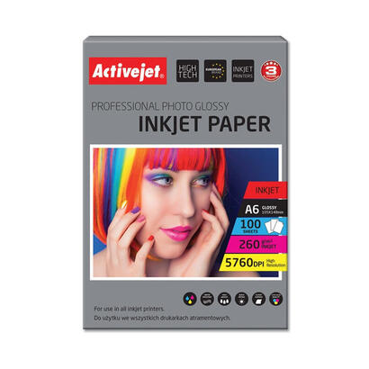 papel-fotografico-a6-activejet-ap6-260gr100-para-impresoras-de-tinta-a6-100-pcs