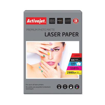 papel-fotografico-mate-activejet-ap4-110m100l-para-impresoras-laser-a4-100-pcs