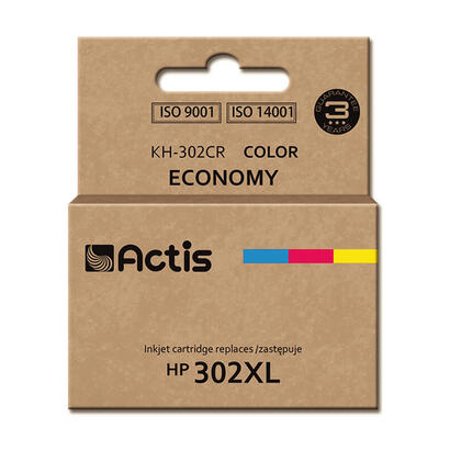 actis-cartridge-kh-302cr-for-hewlett-packard-compatible-hp-302xl-f6u67ae-standard-kompatibel-tintenpatrone-cian-magenta-amarillo
