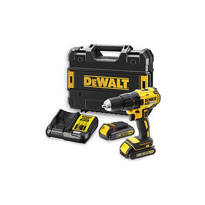dewalt-dcd777s2t-qw-taladro-sin-llave-1750-rpm-negro-amarillo-15-kg