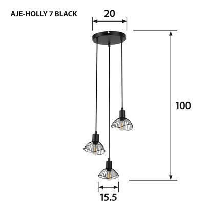 lampara-colgante-activejet-aje-holly-7-black-e14-x-3