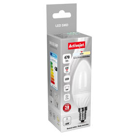 bombilla-led-activejet-vela-470-lm-blanco-neutro-6-w-e14