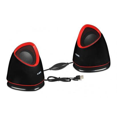 ibox-altavoz-cubo-20-5w-negro-rojo