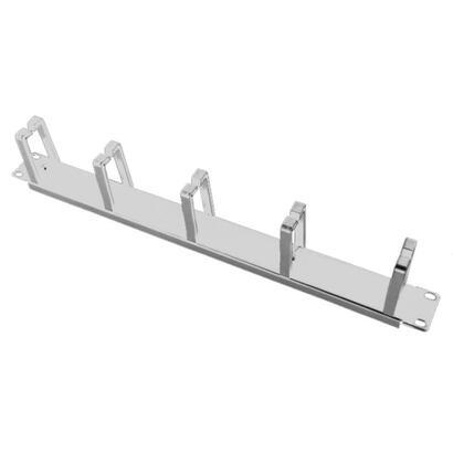 alantec-pk009s-organizador-de-cables-soporte-para-cables-pared-gris