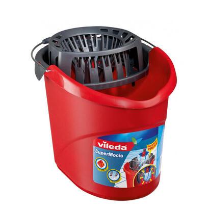 cubo-vileda-supermocio-sistema-fregona-cubo-tanque-individual-rojo-128767-plastic