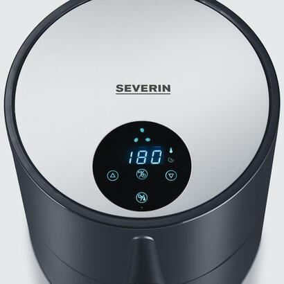 severin-fr-2455-freidora-baja-en-grasa-18-l-sencillo-negro-plata-independiente-900-w