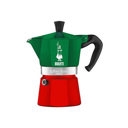 bialetti-0005322-cafetera-manual-cafetera-italiana-013-l-verde-rojo