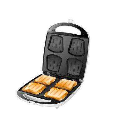 unold-quadro-sandwichera-1100-w-plata-blanco