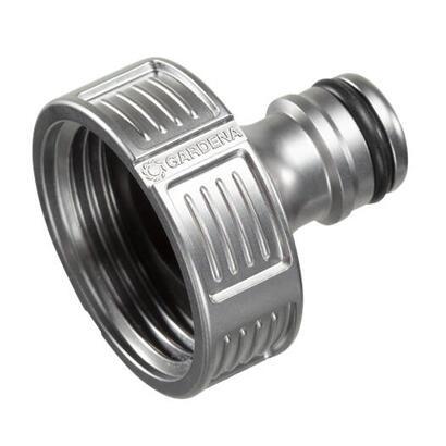 gardena-18242-20-accesorio-para-manguera-conector-para-grifo-metal-metalico-1-piezas