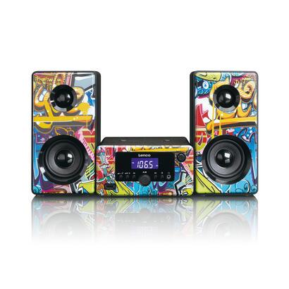 lenco-mc-020-minicadena-de-musica-para-uso-domestico-multicolor-10-w